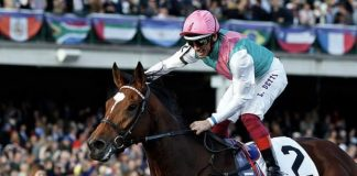 Enable 'The Queen of Racing' - Dettori. Image Twitter