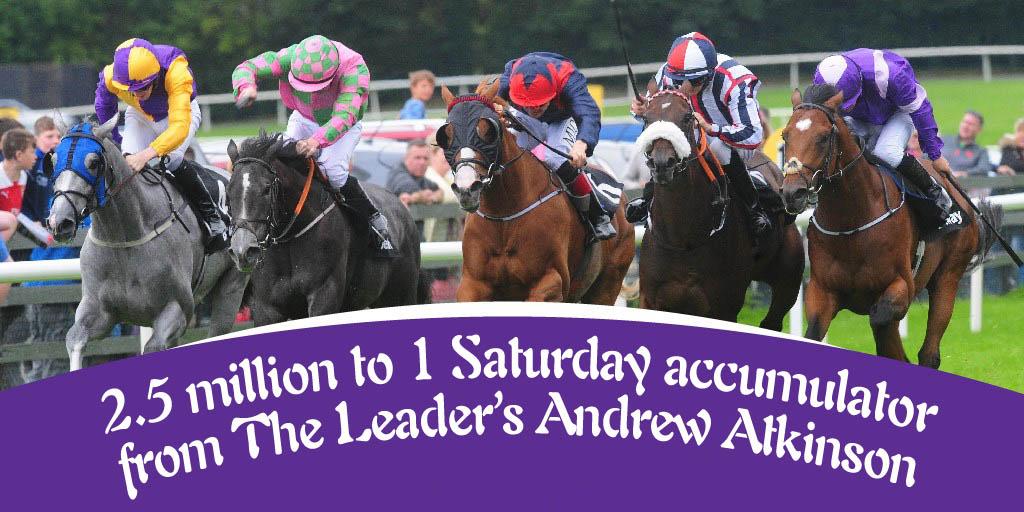 2,500,000-1 eleven horse winning accumulator byfromthehorsesmouth.tips