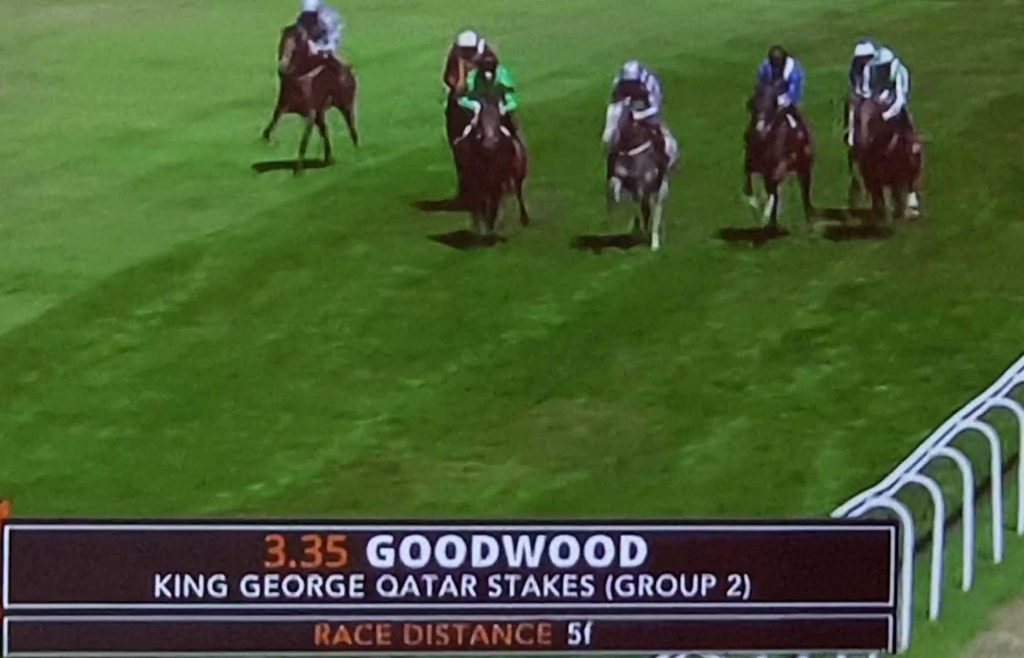 Battash, 2018 winner of the King George Qatar Stakes