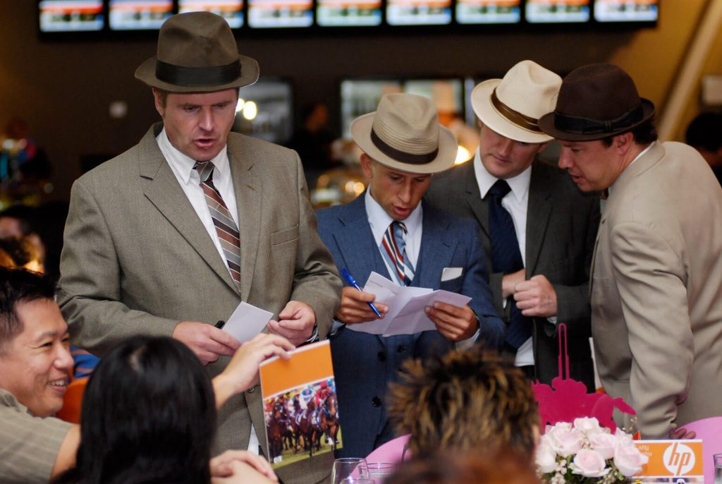 BOOKIES IN A FINE MESS WITH OLIVER HARDY!