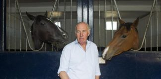 """We had no alternative but to withdraw him, "" rued trainer Martyn Meade"