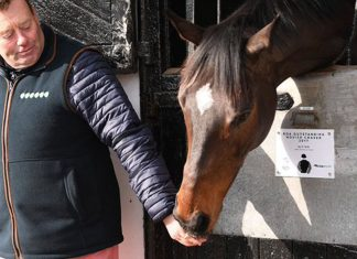 Nicky Henderson says he is very happy with Altior