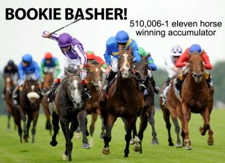 510,006-1 fromthehorsesmouth.tips winning 11-horse accumulator