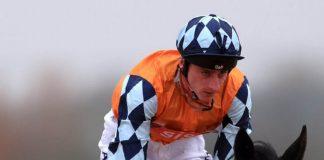 Adam Kirby rides Harry Hurricane at Lingfield.