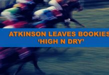 Atkinson leaves bookies high and dry
