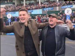 Davies cheered on 8-1 winner Potters Corner