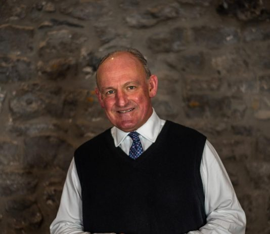Nick, 60, takes over the role of Chairman from Lord Daresbury