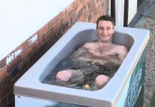 Daryl Jacob relaxes in a brief respite in a jockey's life.