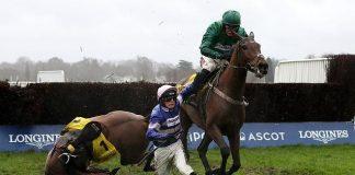 'When he got up it was brilliant. My God what a reception' - trainer Paul Nicholls