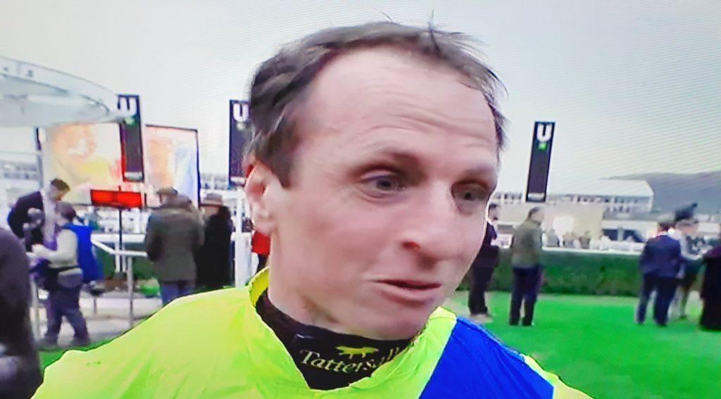 Jockey Jamie Codd - Ravenhill win in NH Challenge Cup.